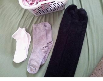 גלגול גרביים