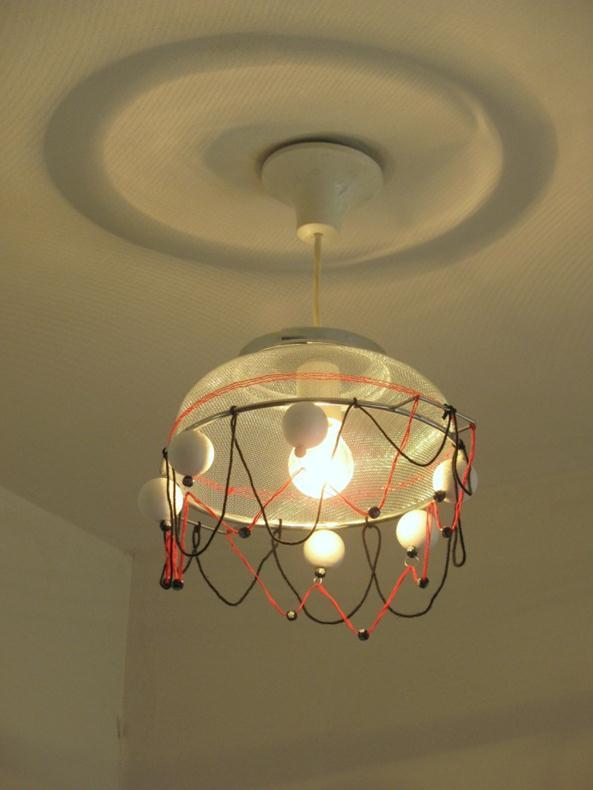 אהיל מנורה תוצרת בית