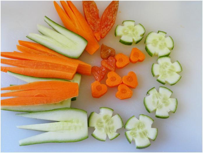 וכולם ביחד - פרחי ירקות
