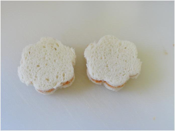 לחם חתוך בצורות