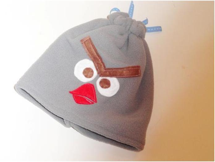 תפירת כובע אנגרי בירדס מפליס לילדים