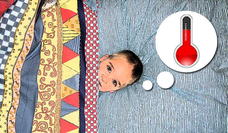 כחום הגוף – טיפים ושיטות ביתיות להורדת חום אצל תינוקות וילדים